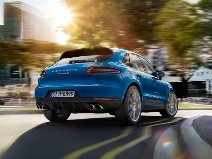Porsche Macan будет гонять в Hankook