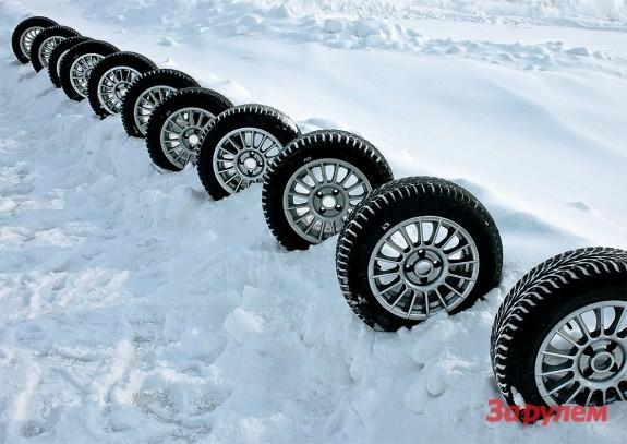 Зимние шины - какие выбрать?
