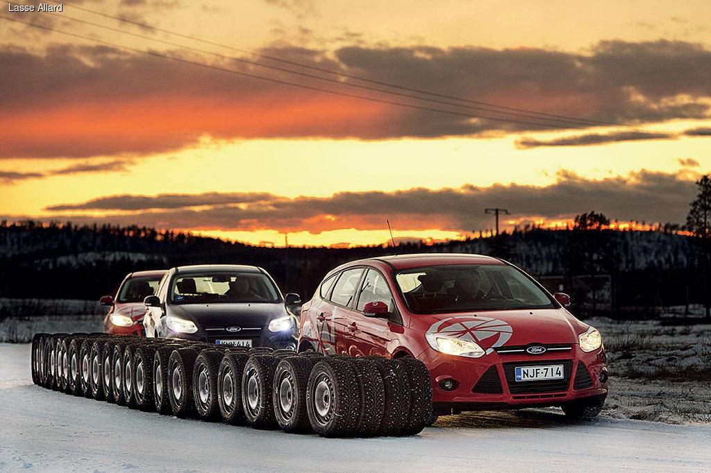 Тест зимних шипованных покрышек от финского журнала Tuulilasi