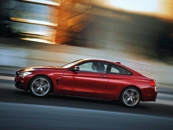Шины Hankook будут устанавливать на новые BMW 4 Series Coupe