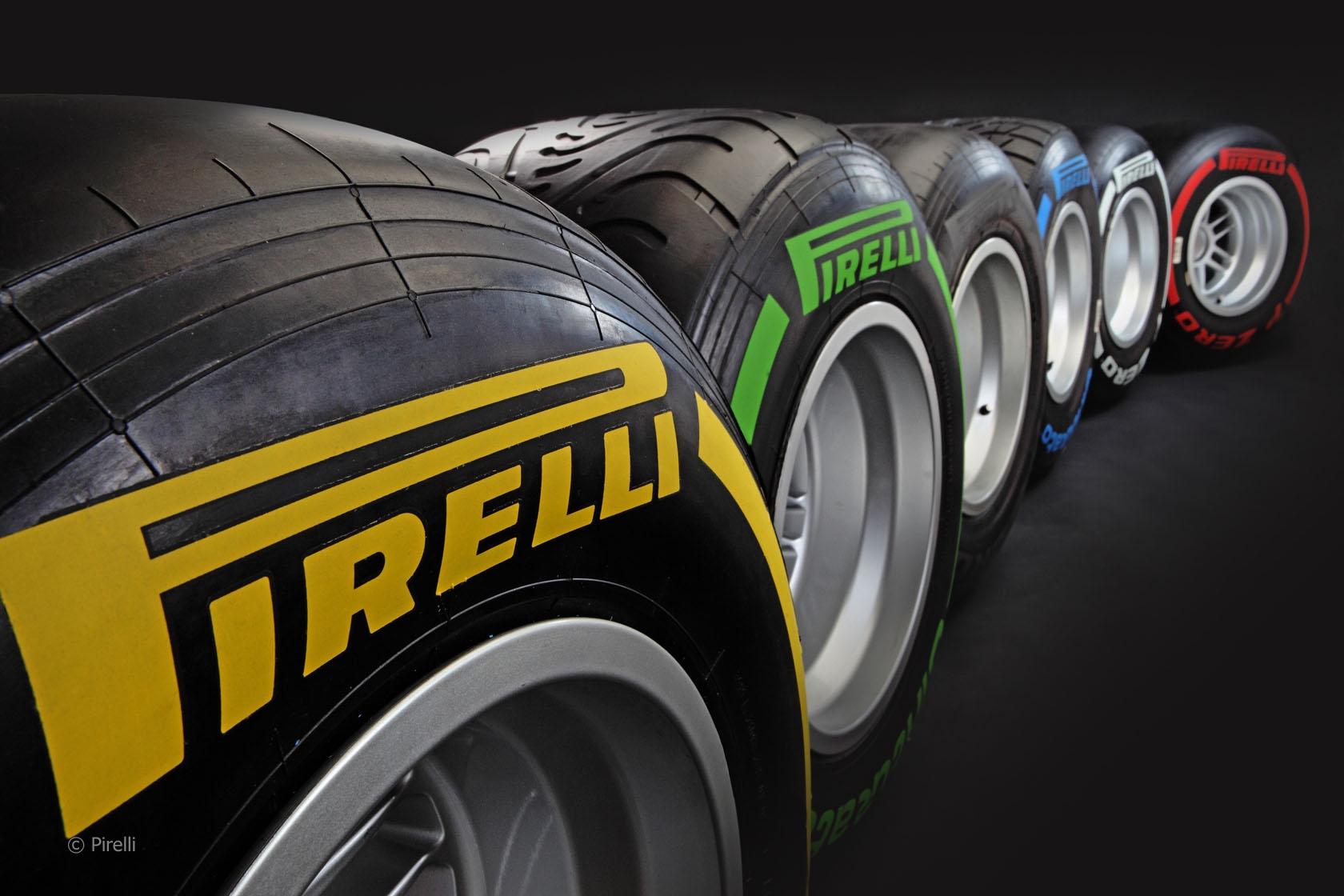 Инновация от Pirelli - внутренняя печать
