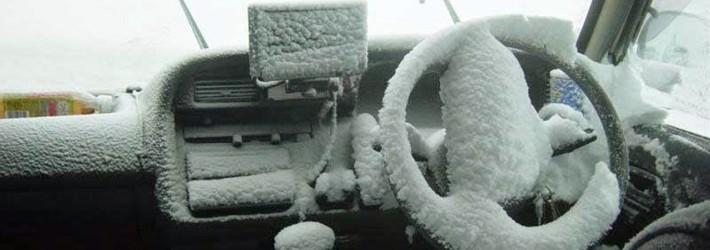 Как завести автомобиль в мороз: сложности и методы их устранения