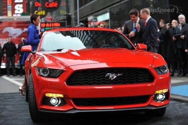 Mustang будет гонять обутый в Hankook