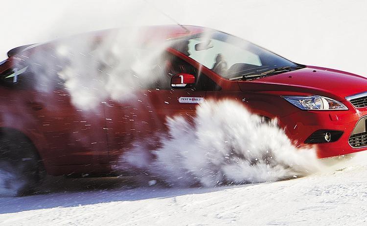 Тест зимних шин от Test World (1 часть)