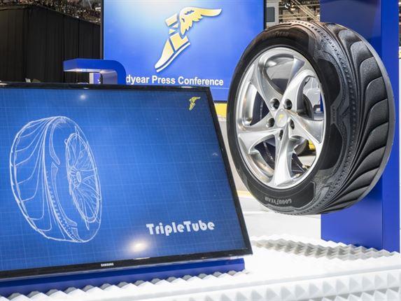 Какие шины будет иметь мой автомобиль будущего?